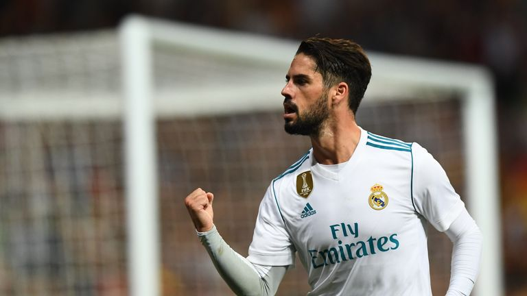Isco is a transfer target for Manchester United