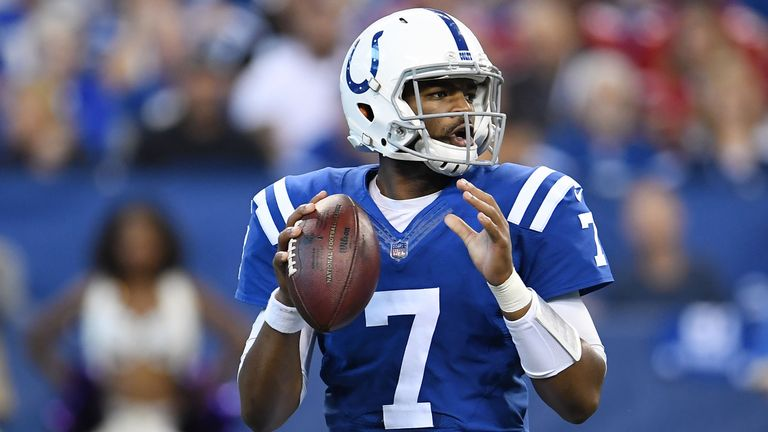 Jacoby Brissett gets a week off from being sacked with a bye in week 11
