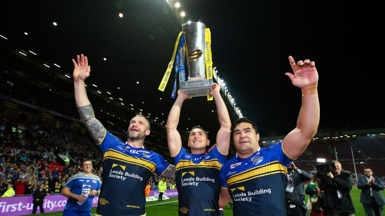 Leeds clinched the treble in 2015 and sent legends Jamie Peacock, Kevin Sinfield and Kylie Leuluai off in the perfect manner