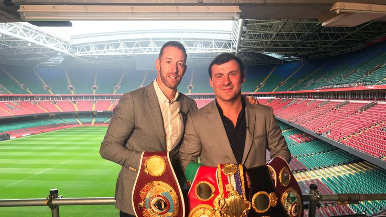 Can Cordina follow in the footsteps of Maccarinelli and Calzaghe