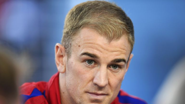 Joe Hart has come in for criticism as England number one over recent months