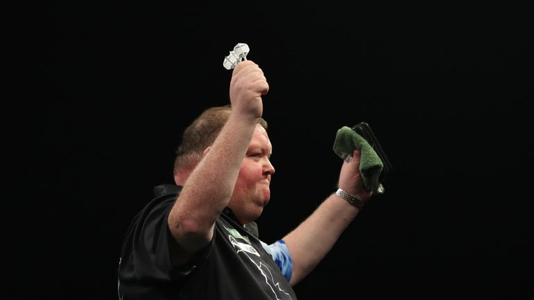Henderson's victory has sent shockwaves through the darting world