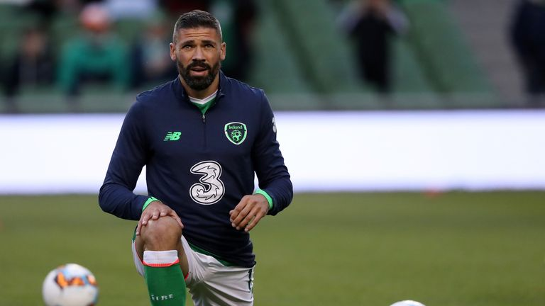 Jonathan Walters could still be fit for Republic of Ireland's World Cup play-off