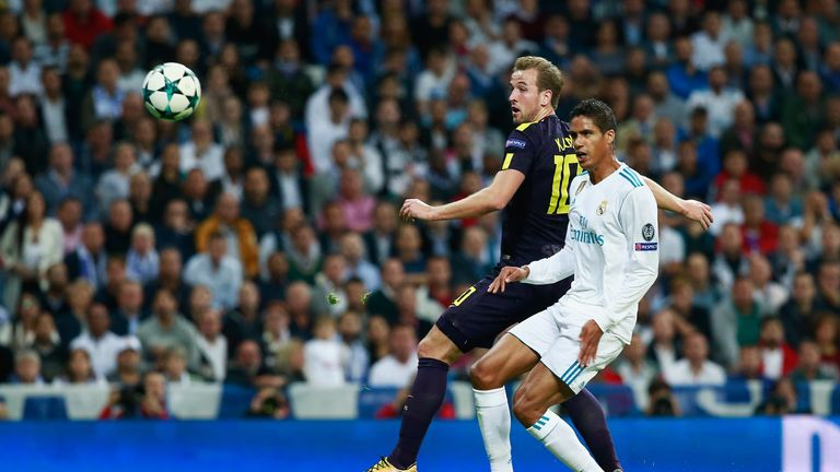 Tottenham clinched a 1-1 draw against Real Madrid at the Bernabeu