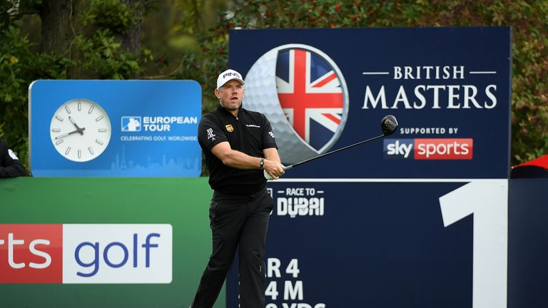 Former world No 1 Lee Westwood hosted last year's event