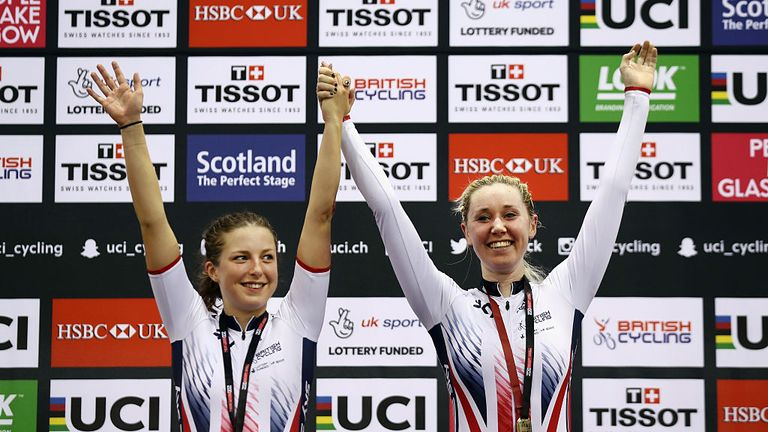 Manon Lloyd was pleased with European track silver