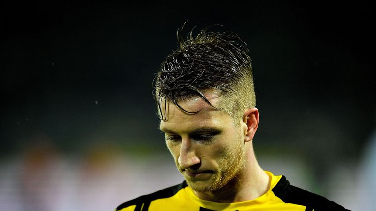 Dortmund midfielder Marco Reus ruing yet another injury