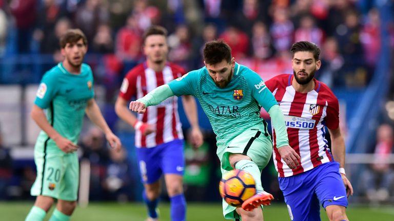 Atletico Madrid meet Barcelona on Saturday