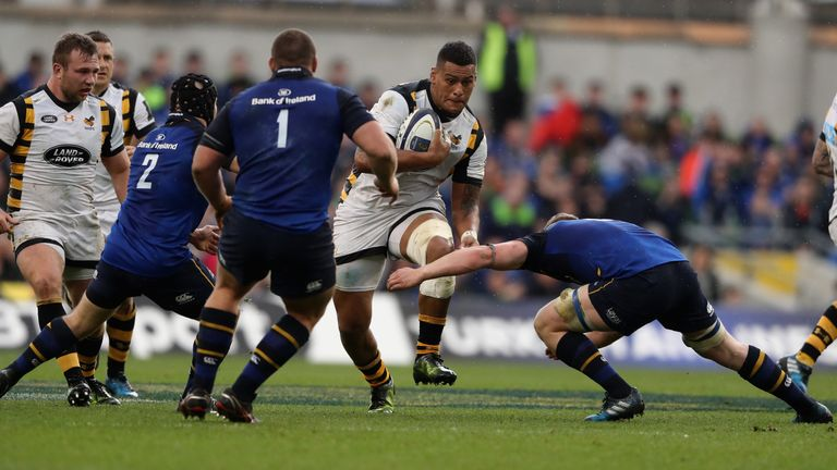 Nathan Hughes made 76 carries for Wasps last Champions Cup season