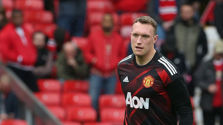Phil Jones withdrew from the England squad this week due to injury