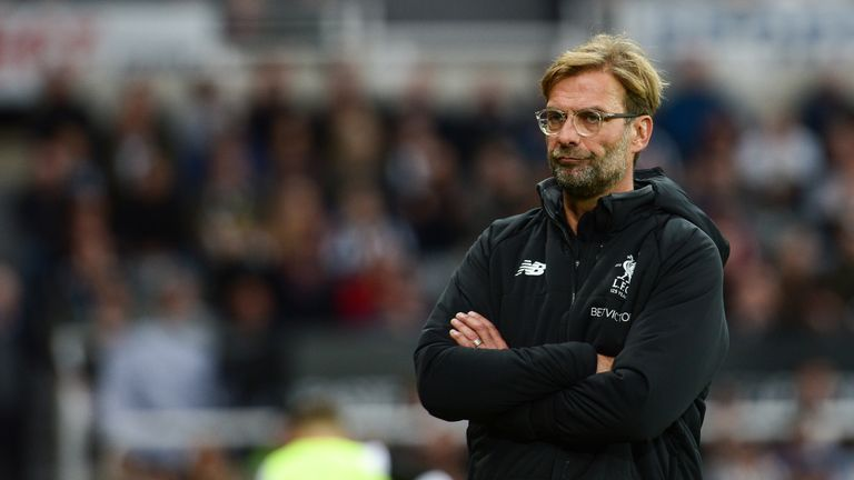 Jurgen Klopp's Liverpool face Southampton at Anfield this weekend