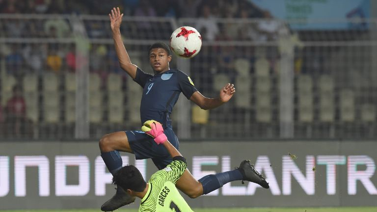 Brewster blasts Brazil to send England to Under-17 final