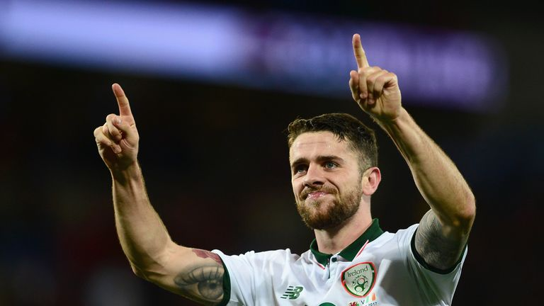 Robbie Brady has been cleared to play in Republic of Ireland's World Cup play-off
