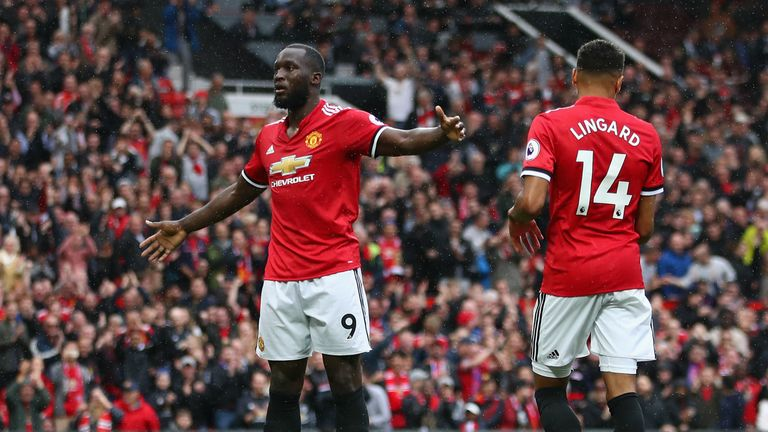 Romelu Lukaku is in blistering form for Manchester United