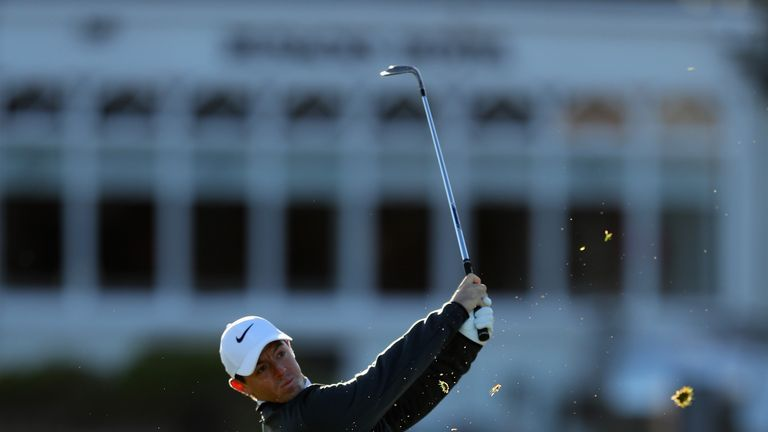 Rory McIlroy carded a one-over 73 in the opening round of the Alfred Dunhill Links Championship