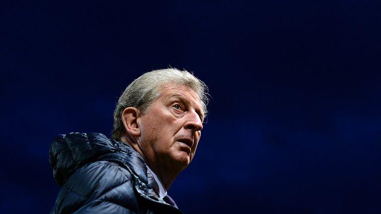 Roy Hodgson during the Carabao Cup defeat at Bristol City