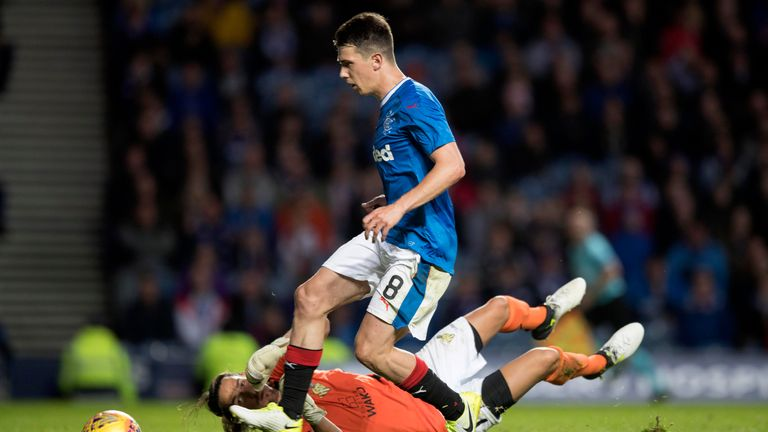 Rangers Star Ryan Jack Called Up To Scotland Squad