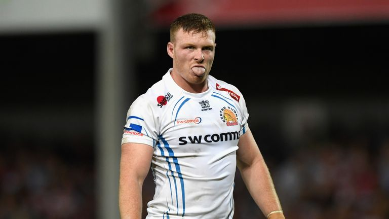 Exeter's Sam Simmonds is Discovery of the Season