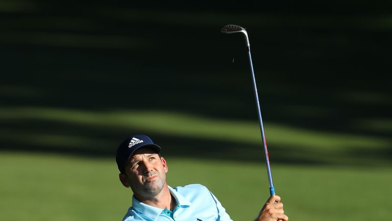 Home favorite Garcia leads Valderrama Masters by one shot