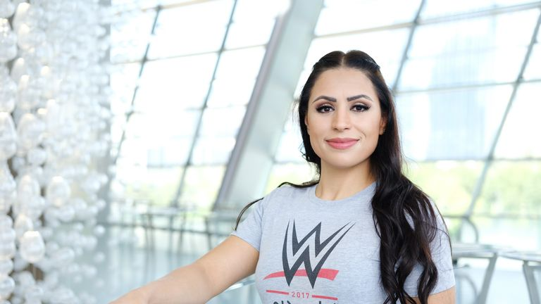 WWE Signs Its First Woman From the Middle East
