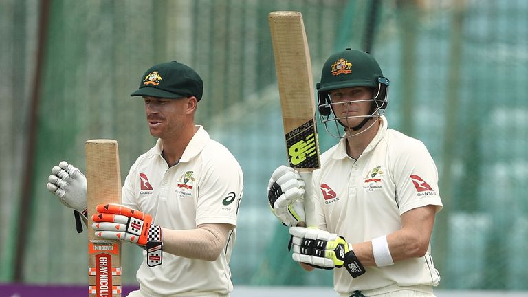 Removing David Warner and Steve Smith early will expose the 'cracks' in the Aussie batting line-up, says Cork