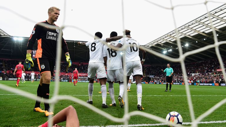Huddersfield lost 2-0 to Swansea in their most recent Premier League match