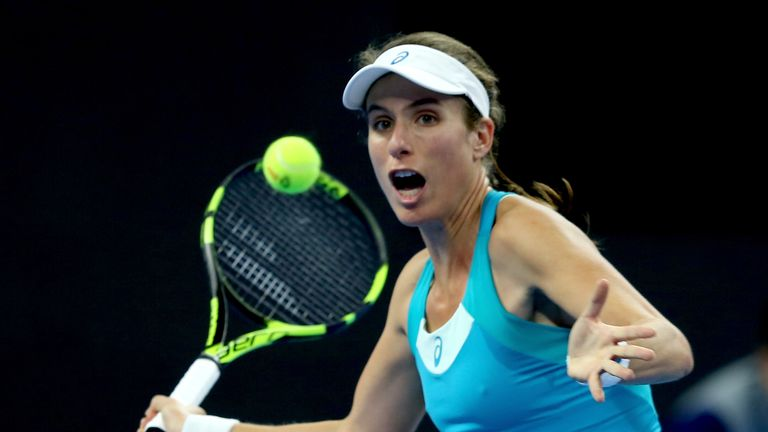 Konta splits with coach and ends season