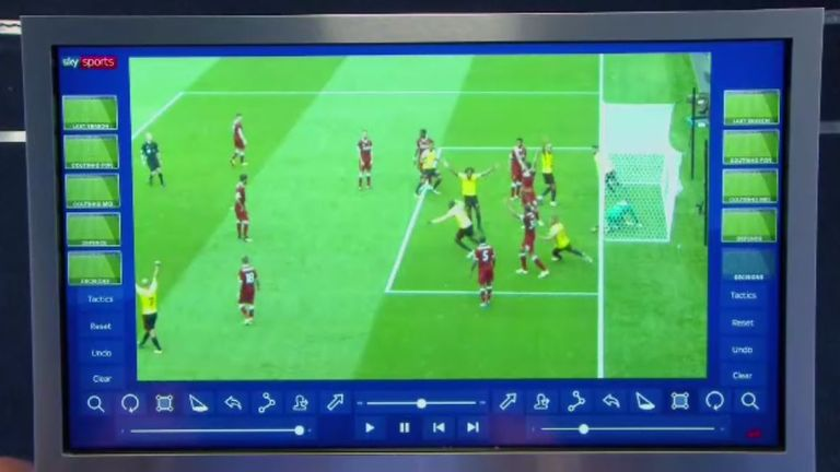 Carragher and Klopp dissected Liverpool's defensive displays
