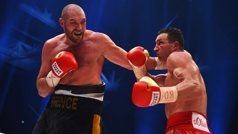 Tyson Fury challanges Anthony Joshua in a bid to reclaim World Titles