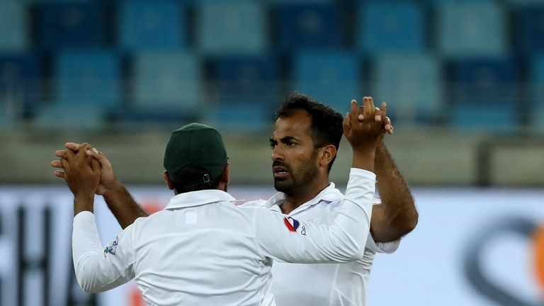 Riaz was omitted from Pakistan's test side to play Ireland and England