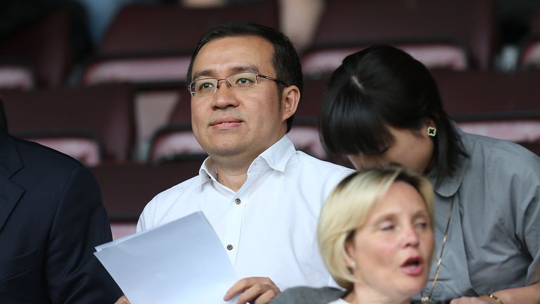 Wolves chairman Jeff Shi is now based near the club
