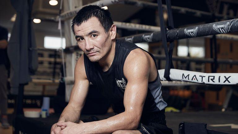 Zhanat Zhakiyanov defends his WBA 'super' title against IBF champion Ryan Burnett in Belfast, live on Sky Sports (pic courtesy of Mark Robinson)