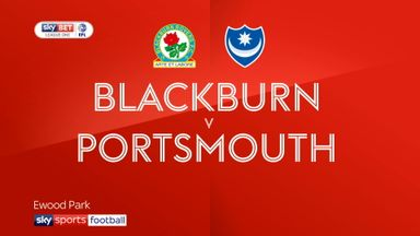 Blackburn 3-0 Portsmouth