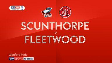 Scunthorpe 1-1 Fleetwood