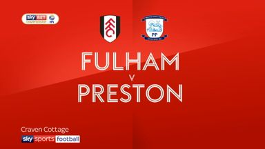 Fulham 2-2 Preston