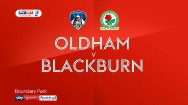 Oldham 1-0 Blackburn