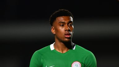 Alex Iwobi scored the goal to send Nigeria to next year's World Cup