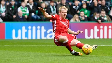 Gary Mackay-Steven scored a hat-trick for Aberdeen on Saturday