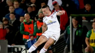 John Cooney scored one of six Ulster tries against the Southern Kings