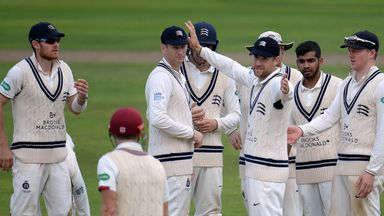 Middlesex have been relegated from County Championship Division One, just a year after winning the title