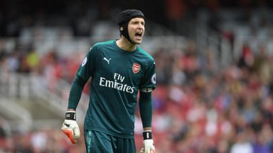 fifa live scores - Petr Cech apologises to Arsenal fans after Brighton defeat