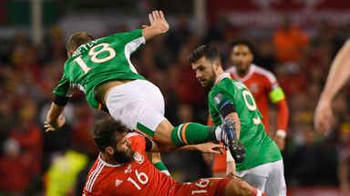 Wales face Republic of Ireland in a crucial World Cup qualifying clash