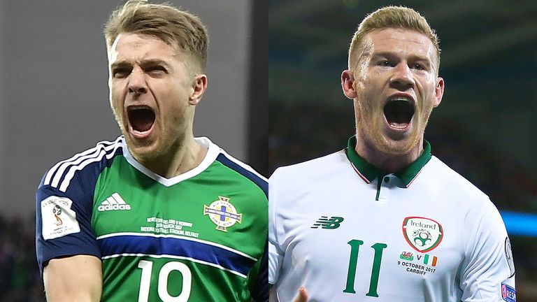 World Cup play-offs explained: Who could Northern Ireland and Rep of Ireland face?