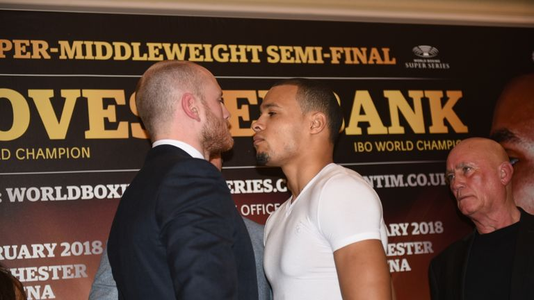 Eubank Jr faces Groves in a British battle at Manchester Arena