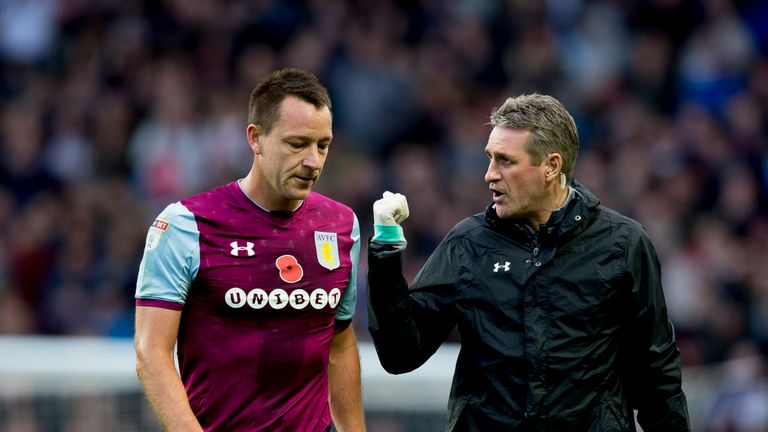 John Terry limped off against Sheffield Wednesday after just 21 minutes