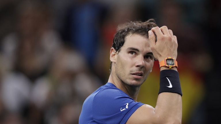 Rafael Nadal is not an advocate of using a shot clock