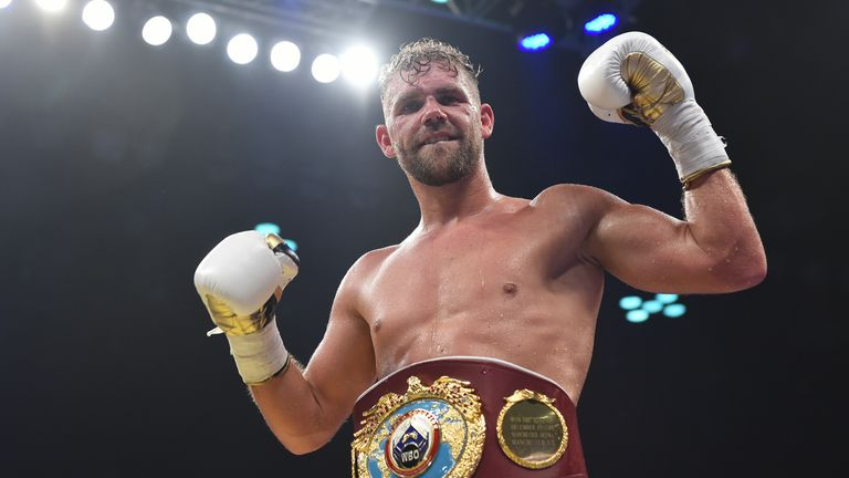 Billy Joe Saunders is Britain's longest-standing world champion