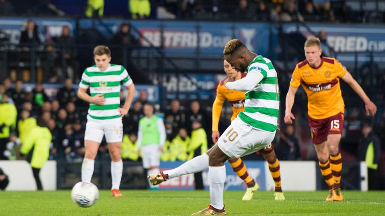 Dembele's spot-kick made it 2-0 to Celtic