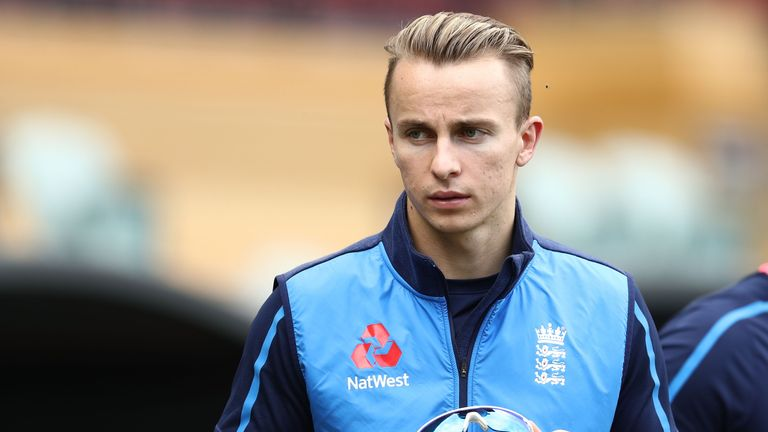 Curran is hoping to be given a chance in England's next warm-up game in Townsville