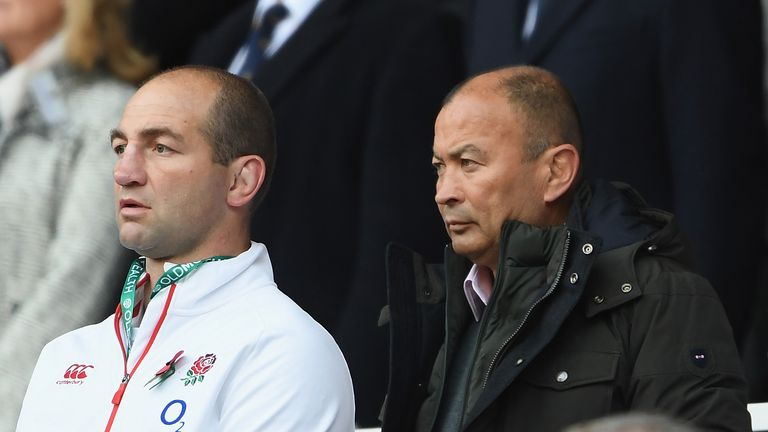 Eddie Jones is looking forward to pitting his side against Michael Cheika's charges